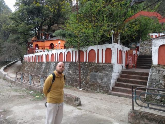 Visiting padampuri ashram