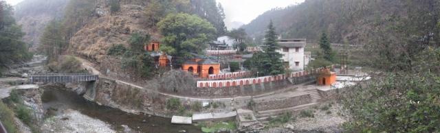Padampuri Ashram panorama view
